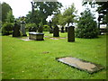 SE1223 : The Parish Church of St Anne in the Grove, Southowram, Graveyard by Alexander P Kapp