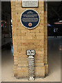 SE5951 : The York Zero milepost by Stephen Craven