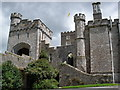 SX9683 : Powderham Castle by Roger Cornfoot