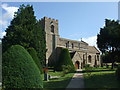 TL2164 : Great Paxton church from the South West by Mark Hurn