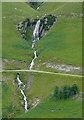 SN8057 : Waterfall near Nant-y-Stalwyn, Ceredigion : Week 29