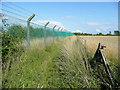 TL0559 : Bedford Autodrome perimeter 4 by Jonathan Billinger
