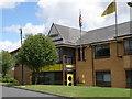 TL2373 : Headquarters of Lola Cars, Huntingdon by Michael Trolove