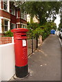 SZ0690 : Branksome: postbox № BH13 105, Ormonde Road by Chris Downer