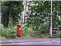 SZ0590 : Branksome: postbox № BH13 253, Western Road by Chris Downer