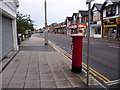 SZ0492 : Parkstone: postbox № BH14 49, Ashley Road by Chris Downer