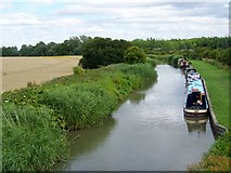 SU0762 : Kennet and Avon Canal near All Cannings by Maigheach-gheal
