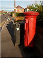 SZ0493 : Parkstone: postbox № BH12 127, Rosemary Road by Chris Downer