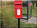 TM4160 : Mill Road Postbox by Adrian Cable