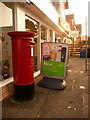 SZ0491 : Parkstone: postbox № BH14 38, Bournemouth Road by Chris Downer