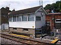 TM3863 : Saxmundham Signal Box by Adrian Cable
