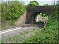 SP3617 : Road Bridge, Finstock Rail Station by Kurt C