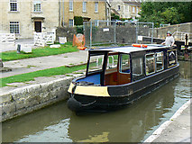 ST8260 : Canal boat on the way up the Kennet and Avon canal (5) by Brian Robert Marshall