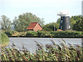 TG4001 : Norton Marsh Drainage Mill by Evelyn Simak