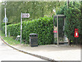 TL4010 : Phone box at Roydon station by Stephen Craven