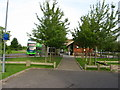 TL4754 : Babraham Park and Ride by Alan Hawkes