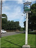 TQ5055 : Bessels Green Village Sign by David Anstiss