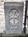 TQ2678 : Stone outside the Armenian Church of St Yeghiche by PAUL FARMER