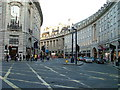 TQ2980 : Regent Street W1 by Dave Fergusson
