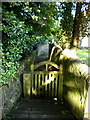 SE1703 : Gate and footpath to the Church of St Anne, Carlecotes by Alexander P Kapp