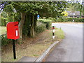 TM4064 : Lowes Hill & East Green Postbox by Adrian Cable