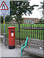 SK5236 : Post box NG9 627 by Alan Murray-Rust