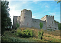 ST5394 : Chepstow castle by Dennis Turner