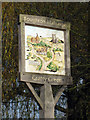TQ8748 : Boughton Malherbe & Grafty Green Village Sign by Oast House Archive