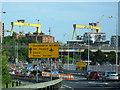 J3475 : Westlink approaching York Street : Week 37