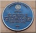 Photo of Blue plaque № 5784