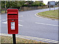 TM3877 : London Road Postbox by Adrian Cable