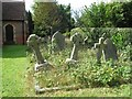 SP8904 : Graveyard, St. John the Baptist Church, Lee, Buckinghamshire by Gerald Massey
