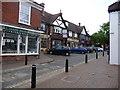SU9382 : Tommy Atkins Butchers High Street Burnham Bucks by Kevin White
