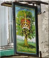 SD9400 : Sign for the Royal Oak by Gerald England