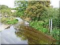 TL1763 : River Kym from Footbridge at Hail Weston Ford by Christine Matthews