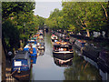 TQ2681 : Boats on the Regents Canal, Paddington by Oast House Archive