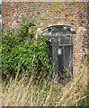 TG4210 : Stokesby Commission Mill - the door into the mill by Evelyn Simak