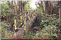 TQ7934 : Footbridge on High Weald Landscape Trail by David Anstiss