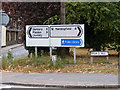 TL7205 : Great Baddow Roadsign by Adrian Cable