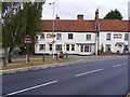 TL7204 : Great Baddow Village Sign &amp; White Horse Public House by Adrian Cable