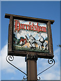 TQ8652 : Harrietsham Village Sign by Oast House Archive