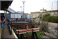 TQ6745 : The end of platform 4, Paddock Wood Station by N Chadwick