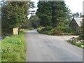 SX2074 : Minor road at Higher Harrowbridge by Rod Allday