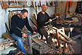 TQ6212 : Trug making at the Truggery by Dave Croker