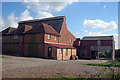 TQ8736 : Oast House at Haffenden Farm, Bugglesden Road, St Michaels, Kent by Oast House Archive