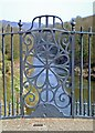 SJ6703 : Ironwork detail, Ironbridge by Paul Buckingham