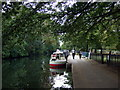 TQ3583 : Towpath beside Victoria Park by ceridwen