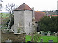 TQ3503 : St Wulfran's Church, Ovingdean by Peter Whitcomb