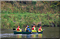 J3268 : Canoeing on the Lagan, Belfast by Albert Bridge
