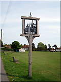 TQ9434 : Woodchurch Village Sign by Oast House Archive